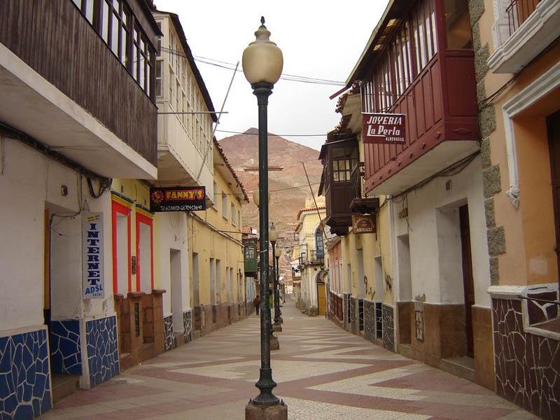 Bolivia, Potosi prima del risveglio.