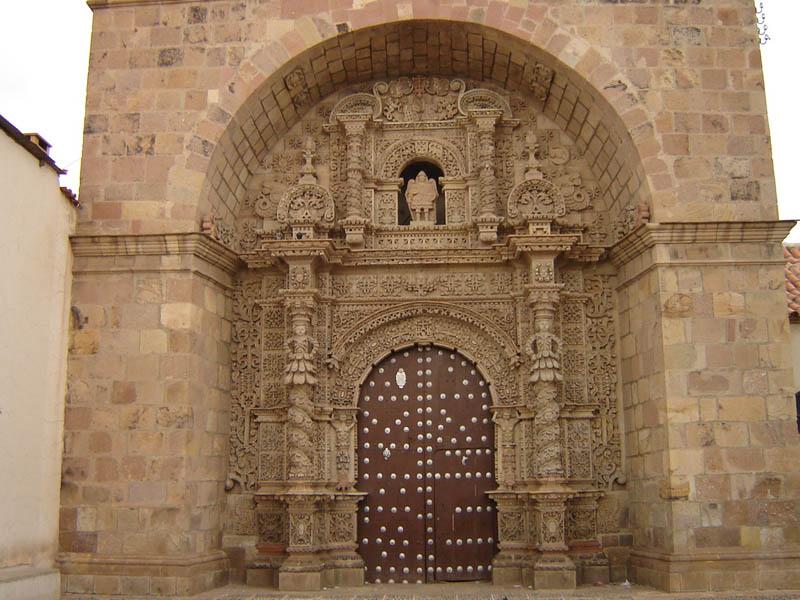 Bolivia, Potosi, Chiesa di San Lorenzo.
