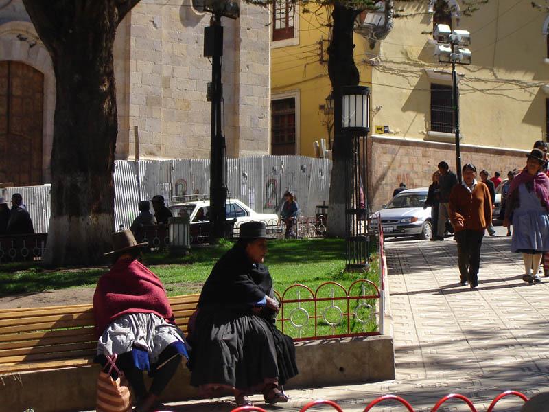 Bolivia, vita cittadina a Potosi