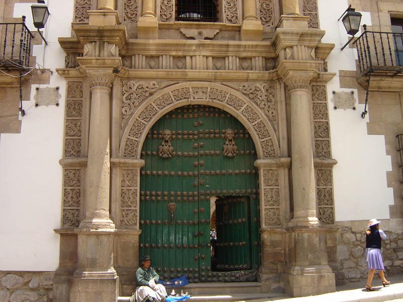 Bolivia, Potosì, Iglesia de San Bernardo.