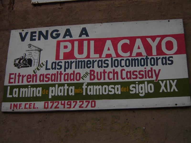 Bolivia, Pulacayo.
