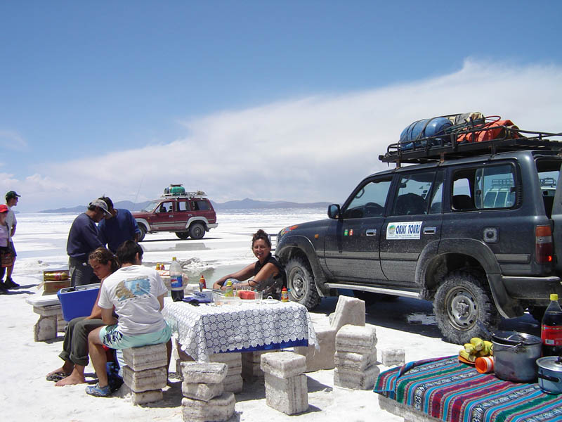 Bolivia, il Salar de Uyuni.