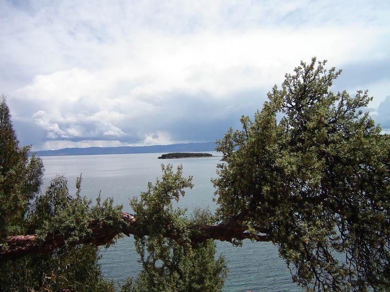 Bolivia, lago Titicaca.