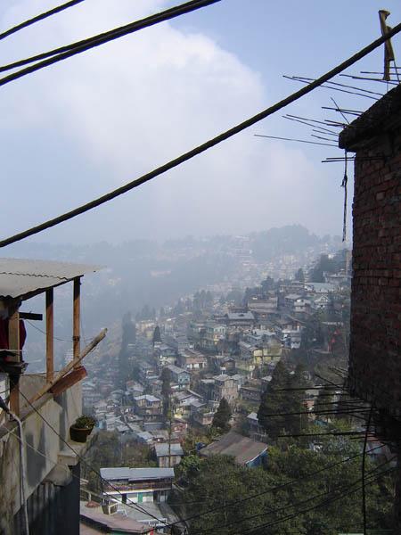 Darjeeling, panorama.