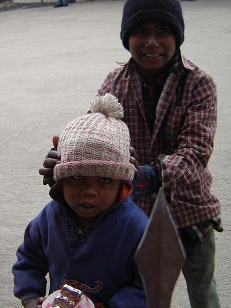 Darjeeling, bambini.