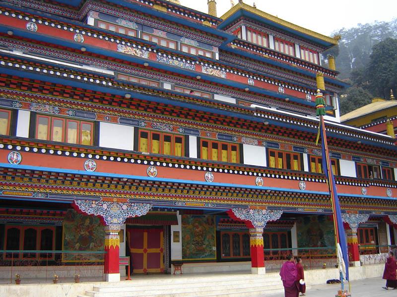 Darjeeling, Samdrub Dargye Choling Gompa.
