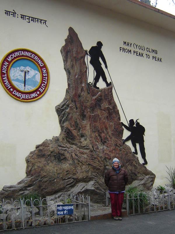 Darjeeling, la Scuola di Alpinismo.