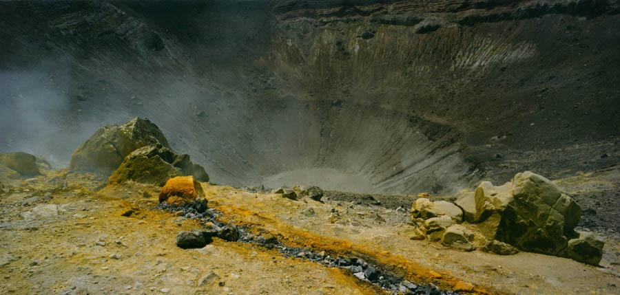 Vulcano, il Gran Cratere.