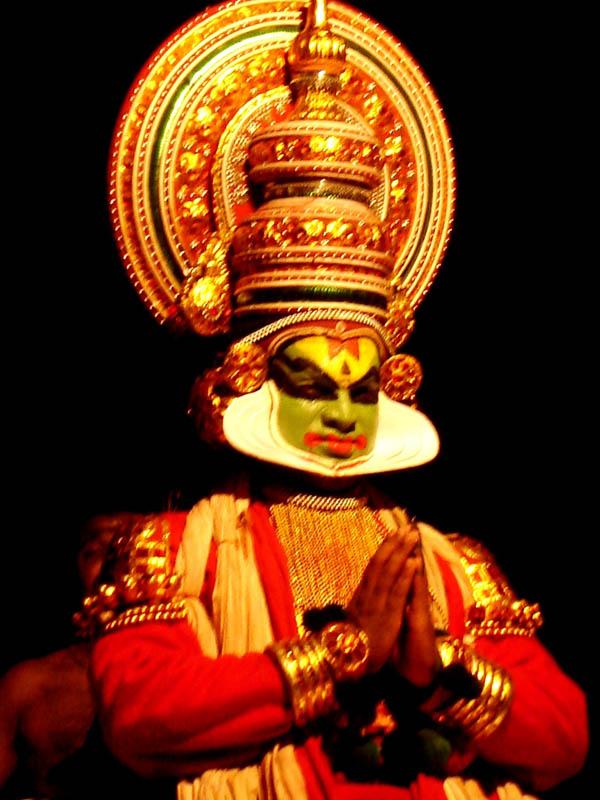 India, Kathakali - Danzatore.