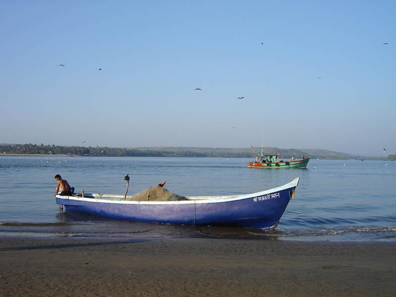 India, barche.