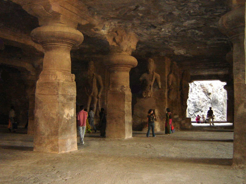India, Mumbai - Il tempio di Elephanta.
