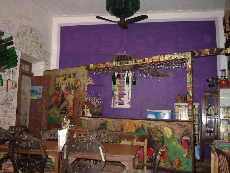 India, Goa - Panaji, ristorante.