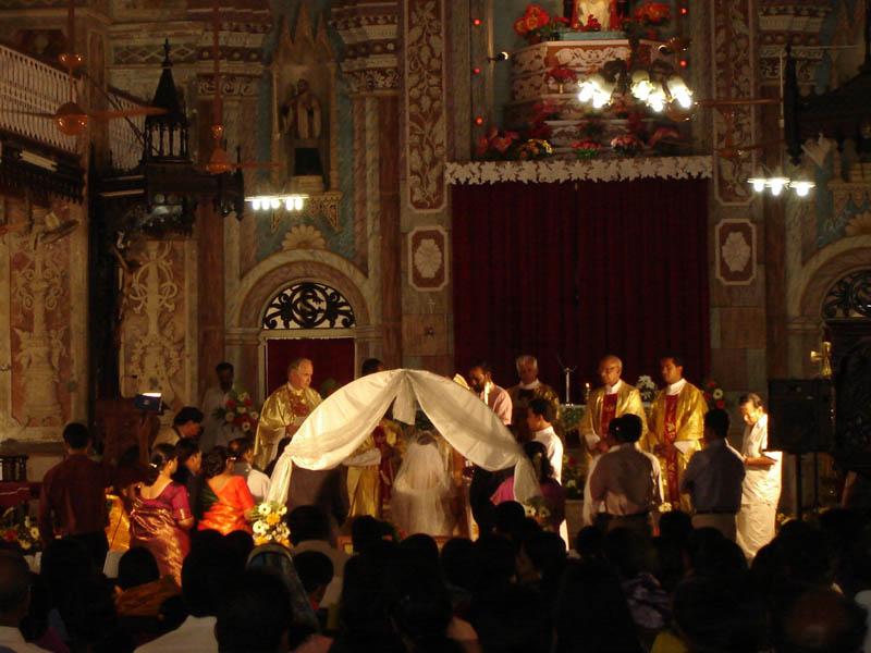 India, Goa - Matrimonio.