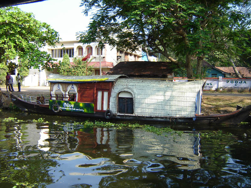 India, Kerala - Alappuzha.