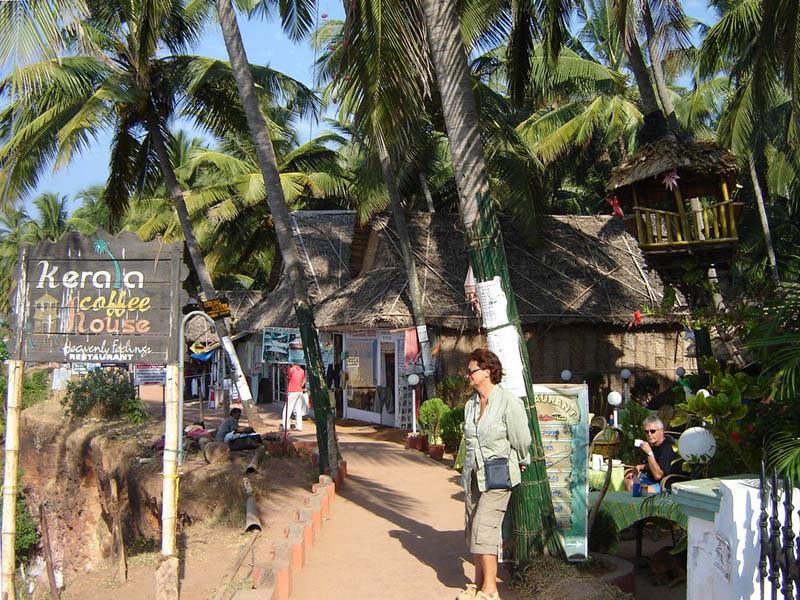 India, Kerala - Varkala.