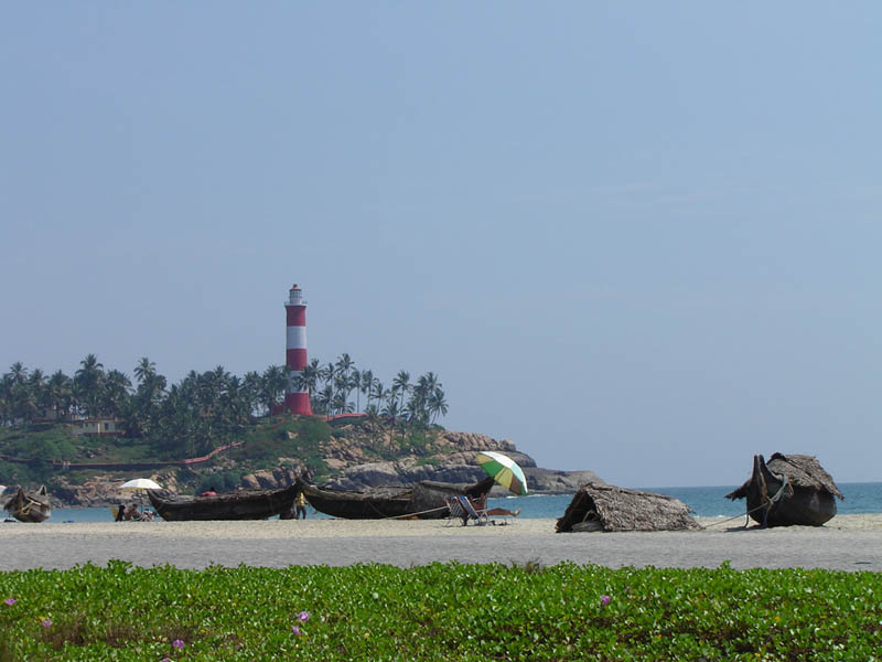 India, Kovalam - Il Faro.