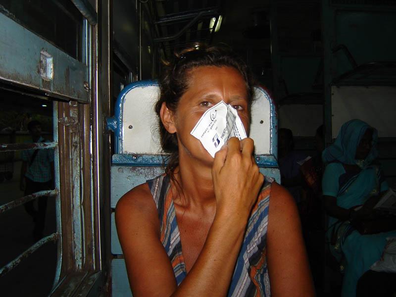 India, in treno - Odoro troppo intensi.