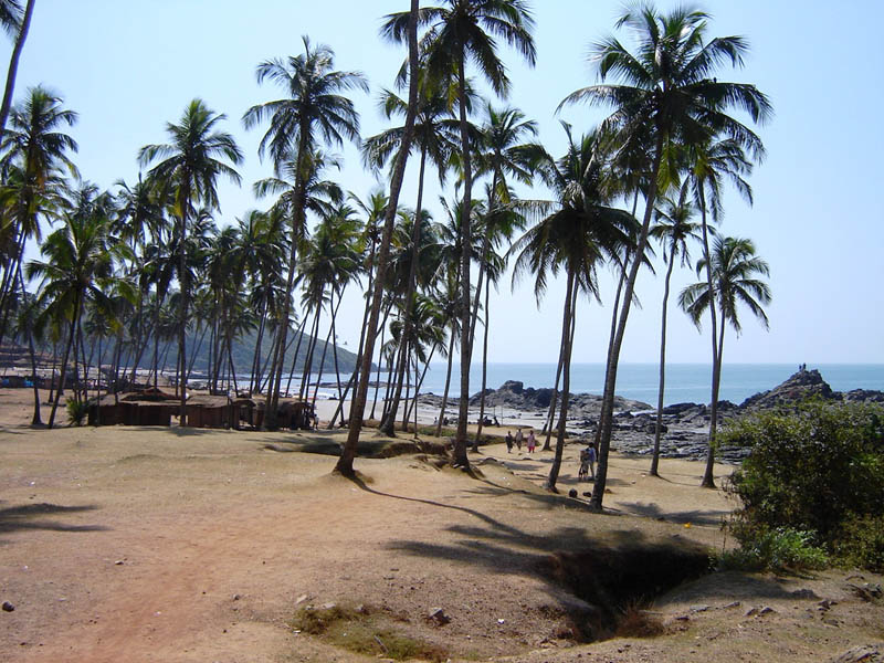 India, Goa - Vagator.