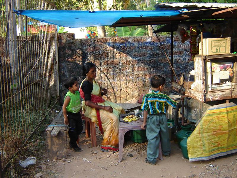 India, attività familiare.