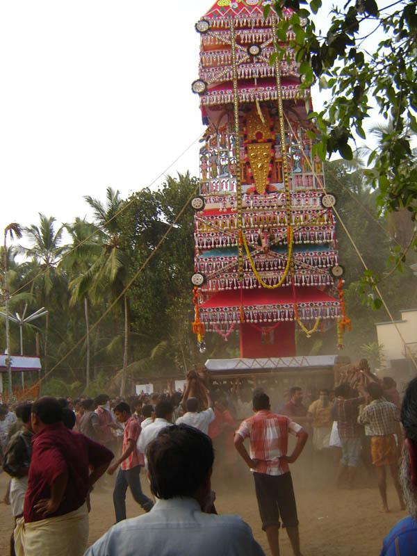 India, Kerala - La sfida della Torre.