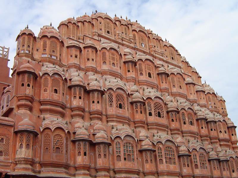 Jaipur, Hawa Mahal.
