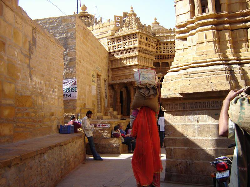 Jaisalmer, la città del deserto.