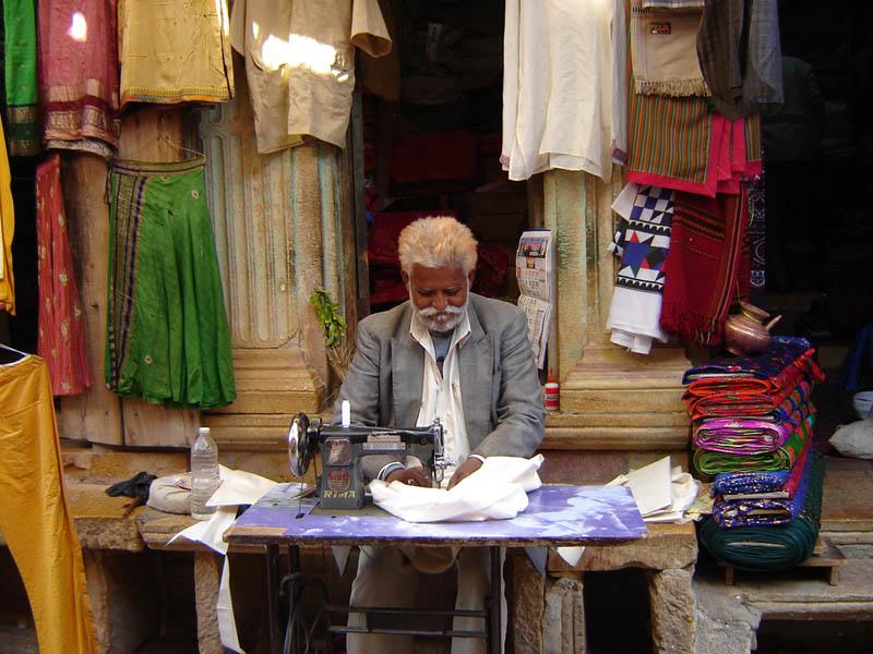 Jaisalmer, il Sarto.