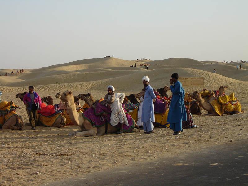 Jaisalmer, il movimentato deserto del Thar.