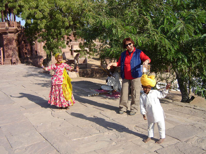 Jodhpur, danza.