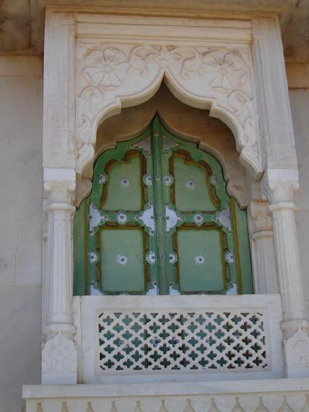 Jodhpur, finestra chiusa.