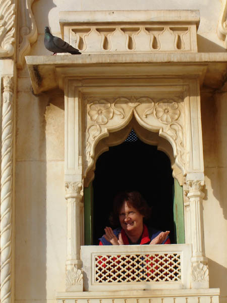 Jodhpur, finestra aperta.