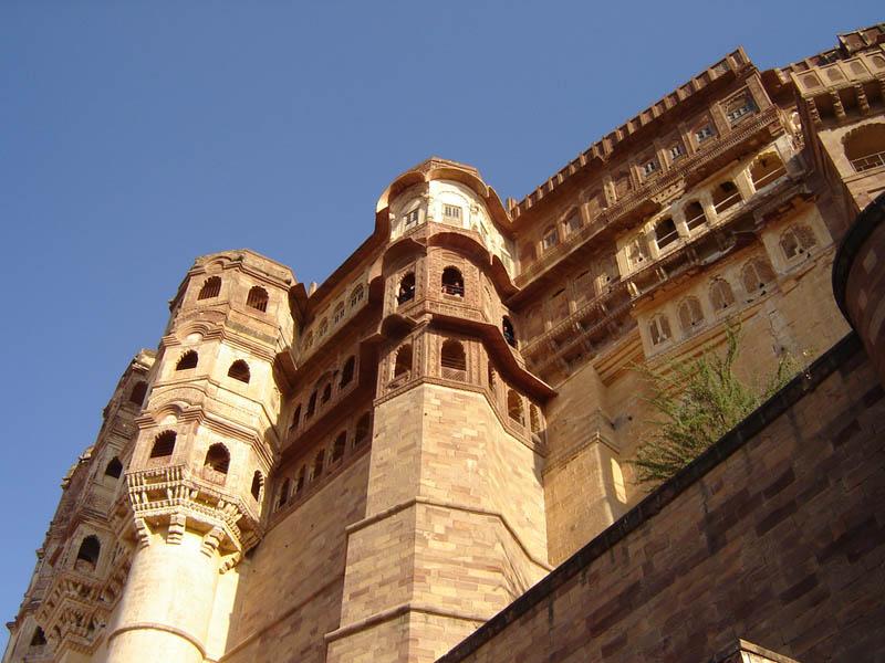 Jodhpur, il Forte Meherangarh.