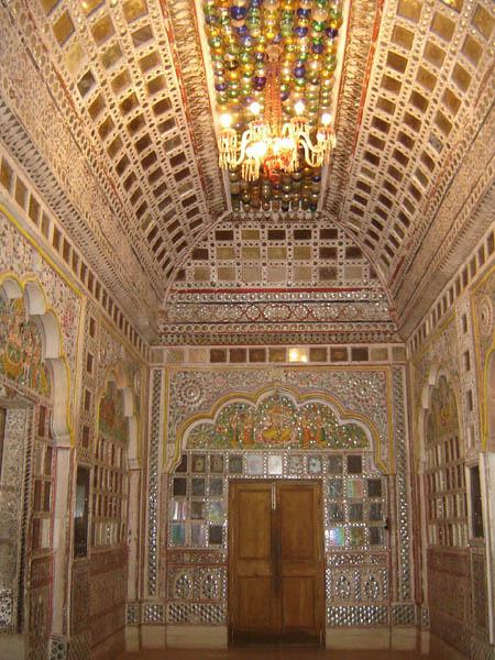 Jodhpur, Interno del Forte Meherangarh.