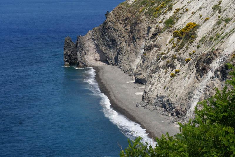 Lipari, spiaggia
