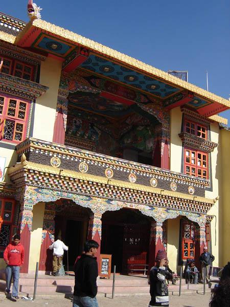Nepal, Bodhnath, architettura tipica.