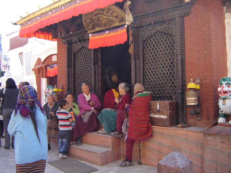 Nepal, Bodhnath.