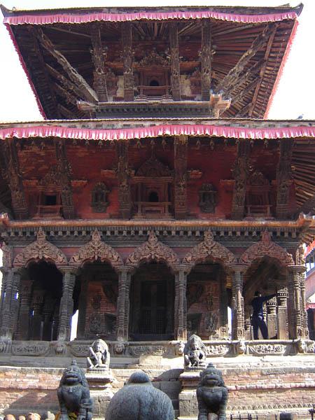 Nepal, Tempio.