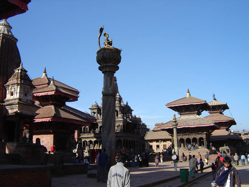 Nepal, Durbar Square.