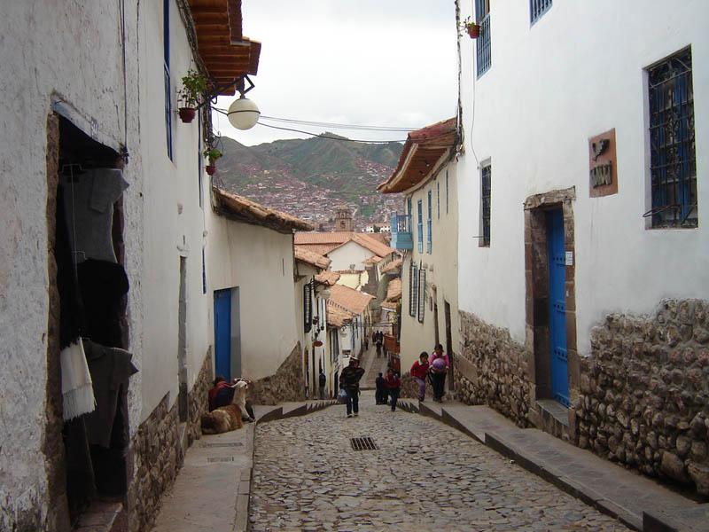 Cuzco, si scende