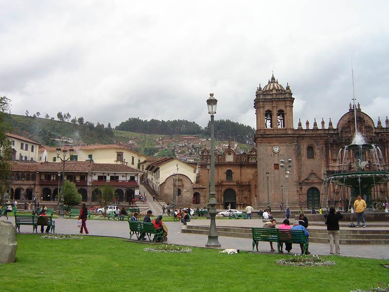 Perù, Cuzco, Plaza de Armas