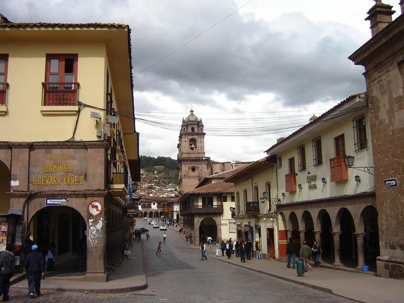 Cuzco, centro cittadino