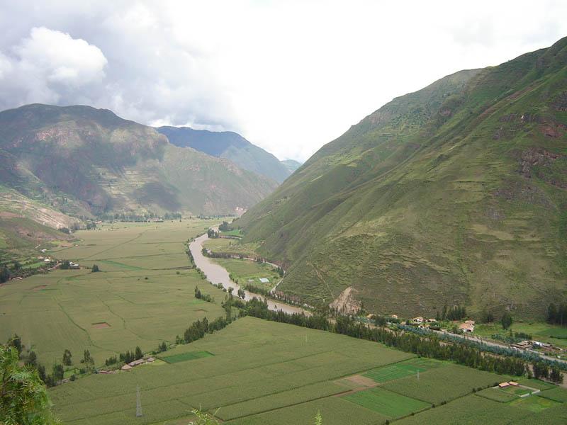 Perù, valle del Fiume Urubamba