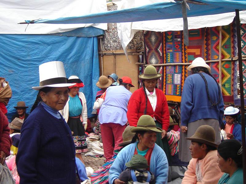 Perù, mercato di Pisac