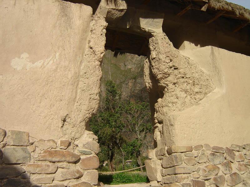 Perù, Ollantaytambo, Mura della Fortezza Inka