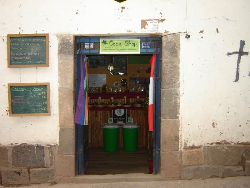 Perù, la Bottega della coca