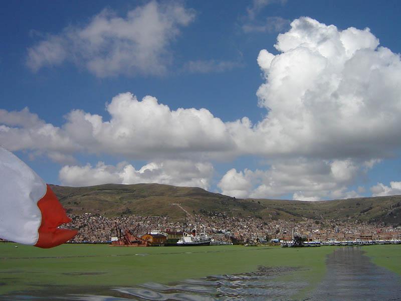 Perù, Puno - lago Titicaca