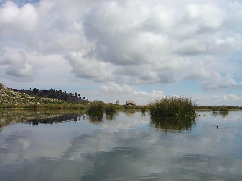 Perù, lago Titicaca