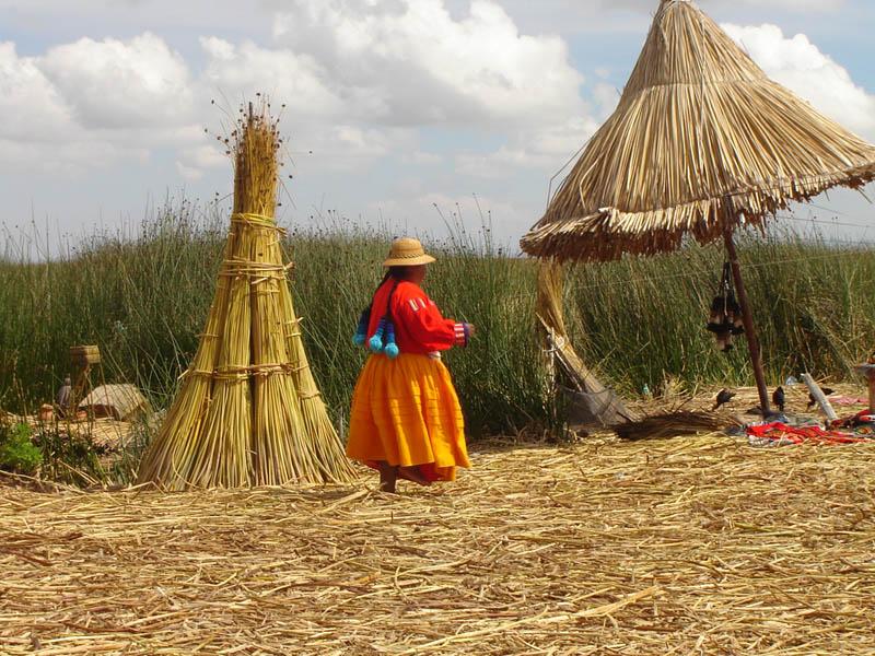 Perù, Titicaca, le Isole di canne