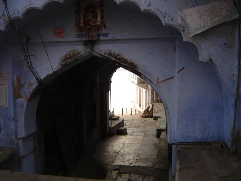 Pushkar, verso i Ghat.