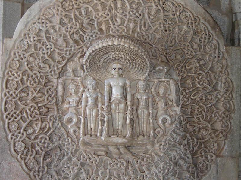 Ranakpur, particolare del tempio.